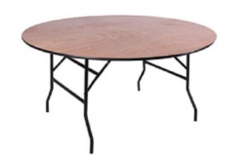 Tafel, rond 180 Ø zonder rok