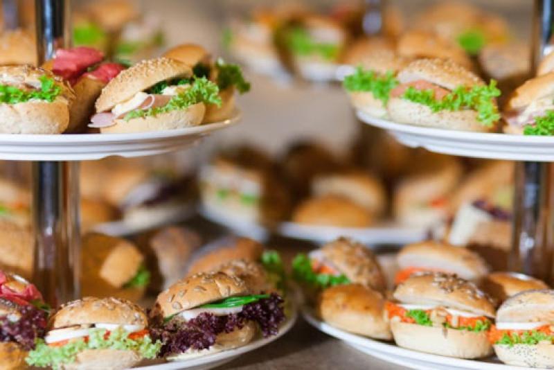 Mini broodjes & sandwiches, assorti, per 50 stuks