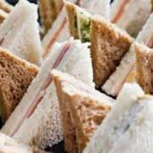 Sandwiches, 3 laags, per 10 stuks