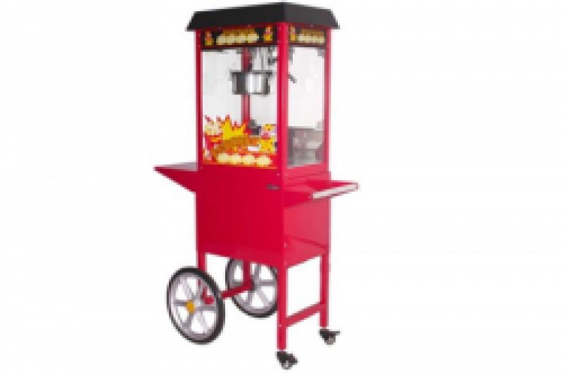 Popcornmachine Inclusief 50 porties voor zoute popcorn & zakjes