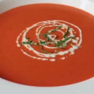 Tomatencrème soep prijs p.p.