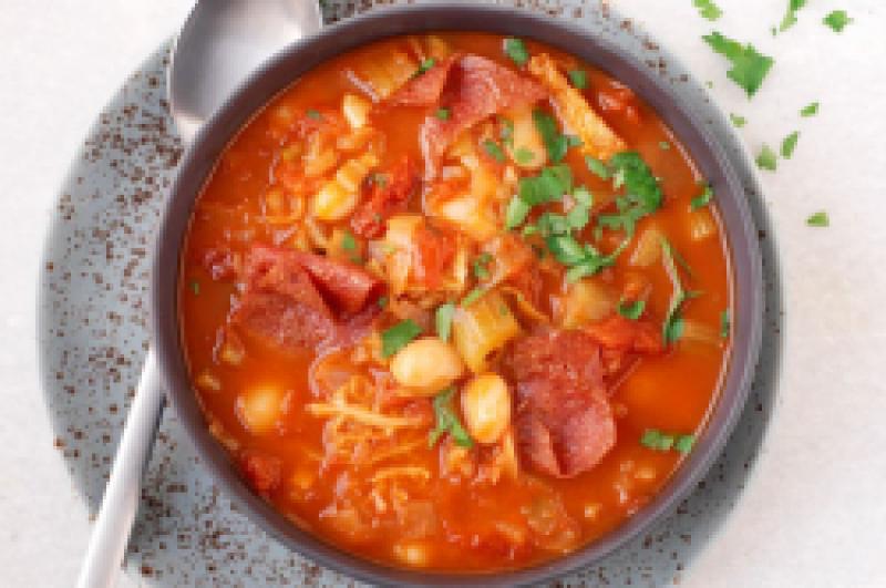 Tomaten-groentesoep prijs p.p.