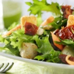 Vegetarische salade prijs p.p.