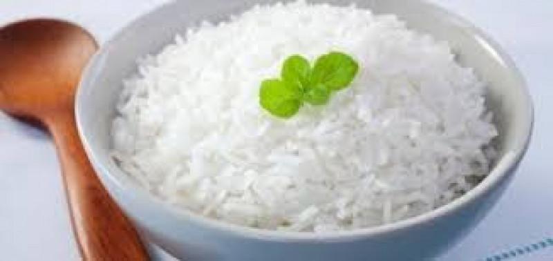 Aanvulling witte rijst