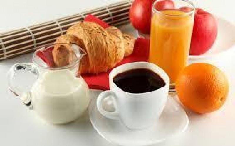 Melk, karnemelk en jus d'orange