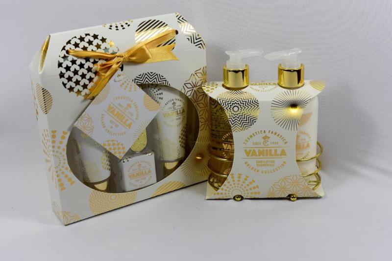 Gouden giftset, 7-delig / vanille