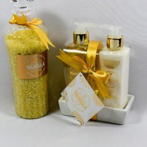 Gouden giftset, 4-delig / vanille