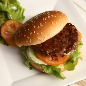 L. Broodje hamburger