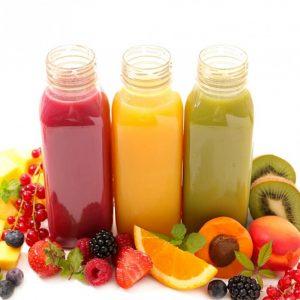 Karaf vruchtensap