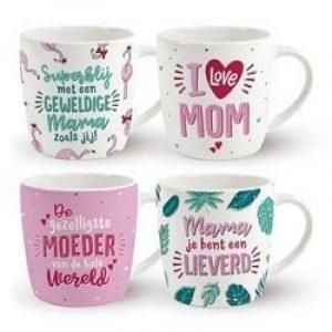Moederdag Mok, I love Mom