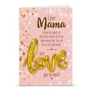 GiftCard Love Ballon - Mama