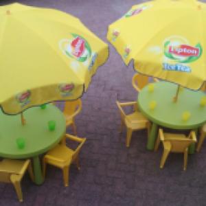 Kindertafel Set