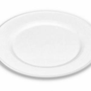 Dessertbord (set van 8)