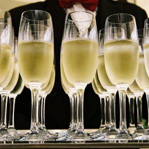G. Glas bubbels prijs p.p.