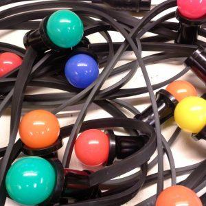 Kabel Gekleurde Lampjes